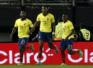 Ecuador venció a Argentina